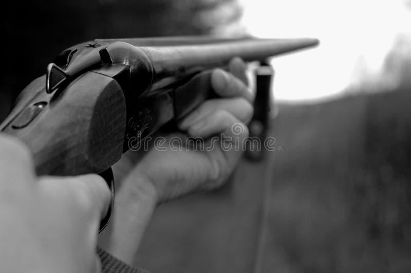 De jager. stock fotografie