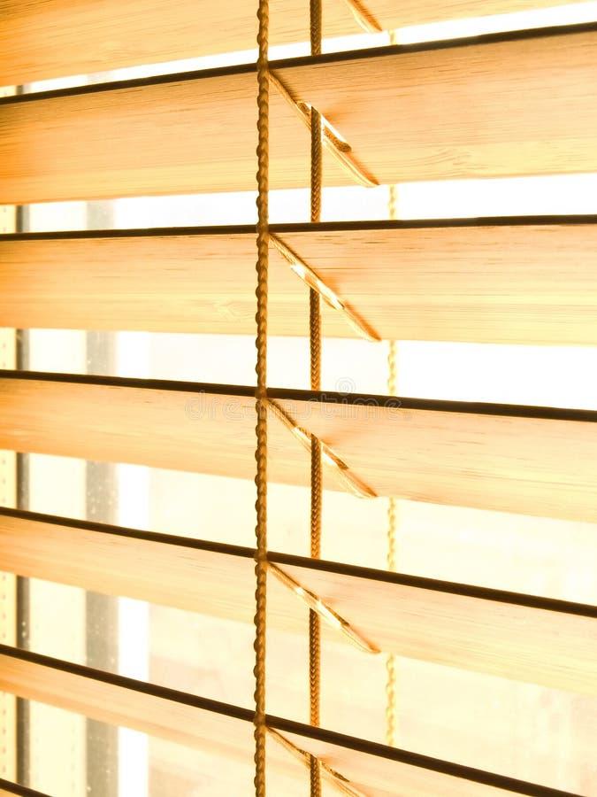 De jaloezie van het bamboe royalty-vrije stock afbeeldingen