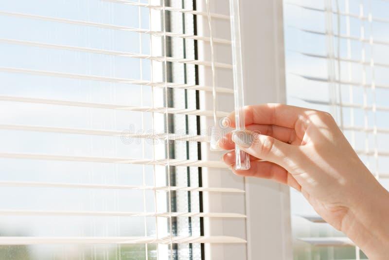 De jaloezie van vensters stock afbeeldingen