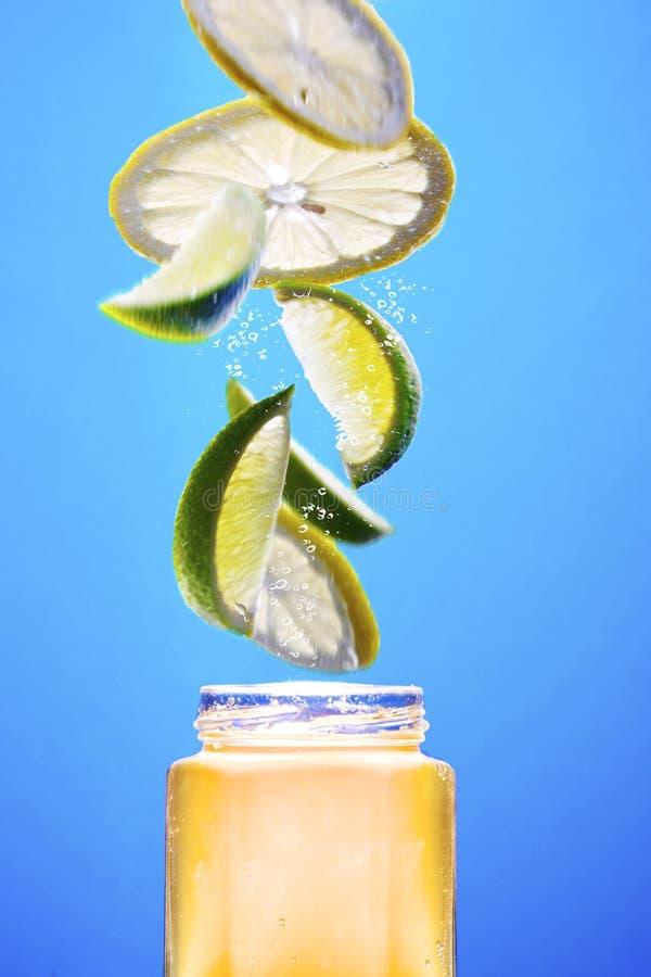 De jam van de citroen royalty-vrije stock foto