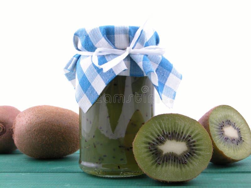 De jam van de kiwi stock foto