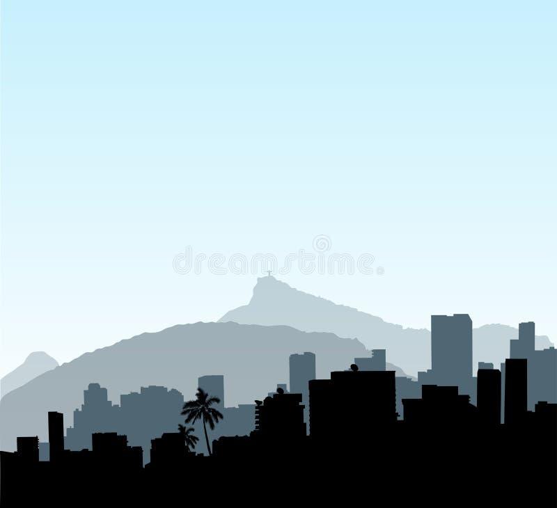 de janeiro Ρίο διανυσματική απεικόνιση