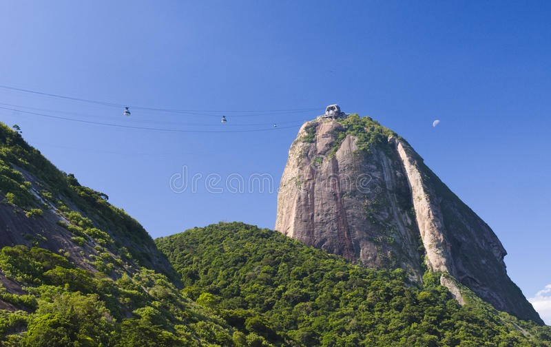 de Janeiro bochenka Rio cukier fotografia stock
