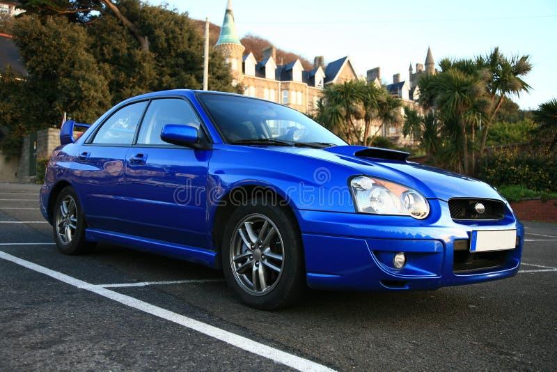 De Japanse Auto van Prestaties - Subaru Impreza royalty-vrije stock afbeeldingen