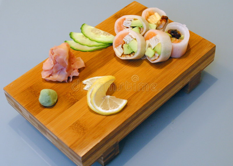 De Japanse keuken royalty-vrije stock foto