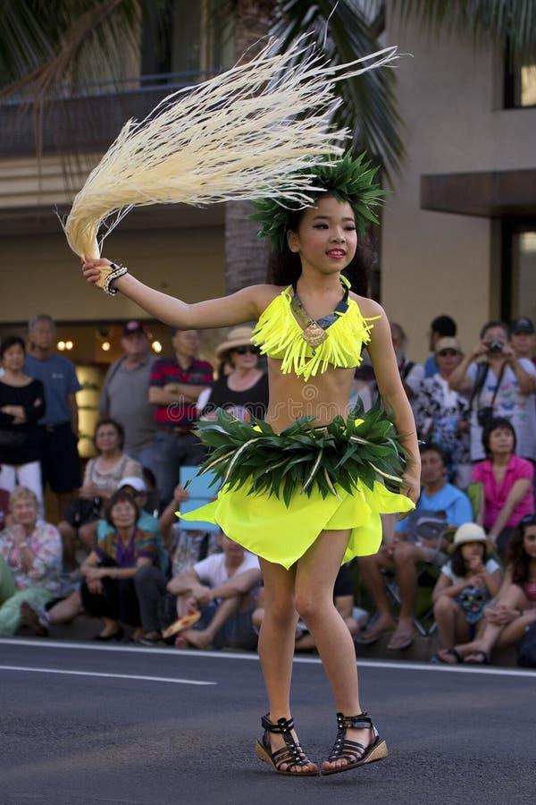 De Japanse Ster van Tahitian Hula stock foto's