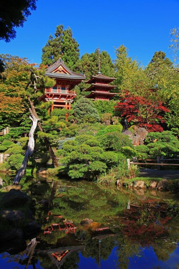 De Japanse Tuin van de Thee in San Francisco stock afbeelding