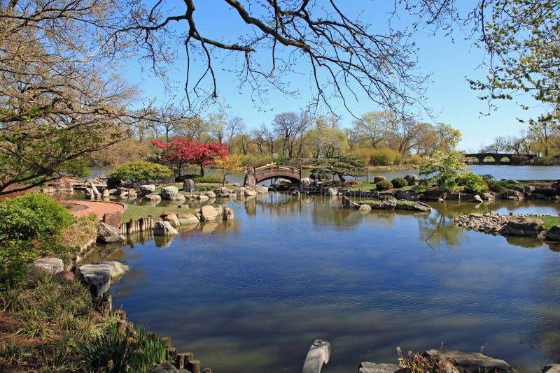 De Japanse Tuin van Osaka royalty-vrije stock fotografie