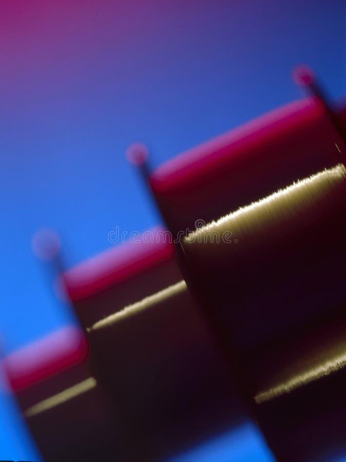 De jaren '90 van de vezeloptica stock afbeelding