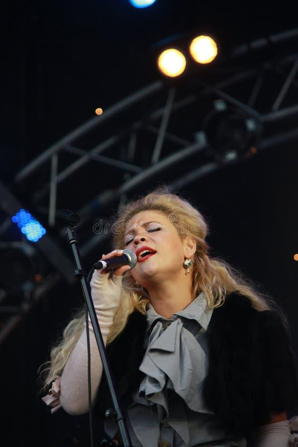 De Jazz Zventa Sventana/Tina Kuznetcova van Usadba stock fotografie