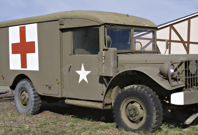De Jeep van de dokter stock afbeeldingen