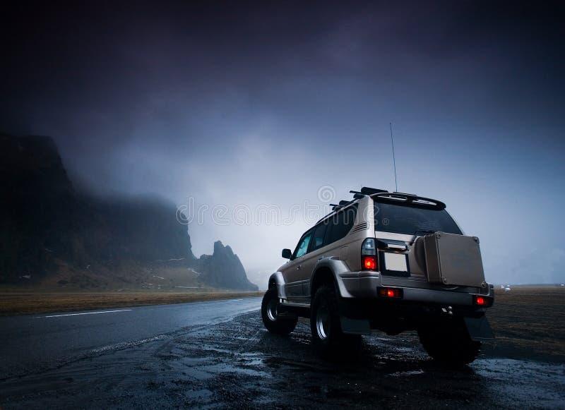 De jeep van het avontuur stock foto's