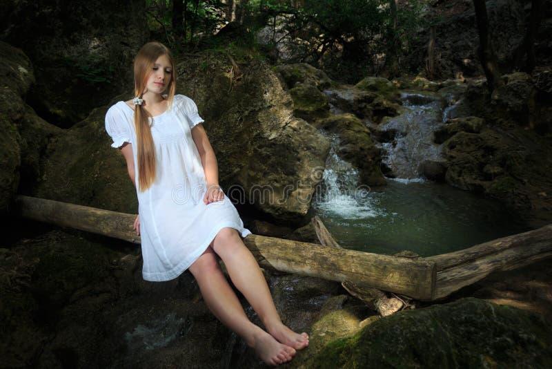 De jeugd en schoonheid royalty-vrije stock afbeelding