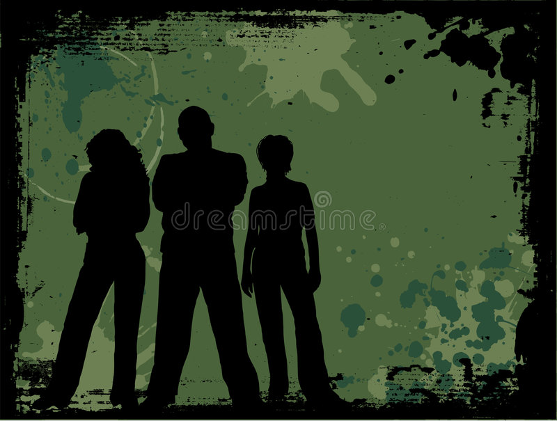 De jeugd van Grunge vector illustratie