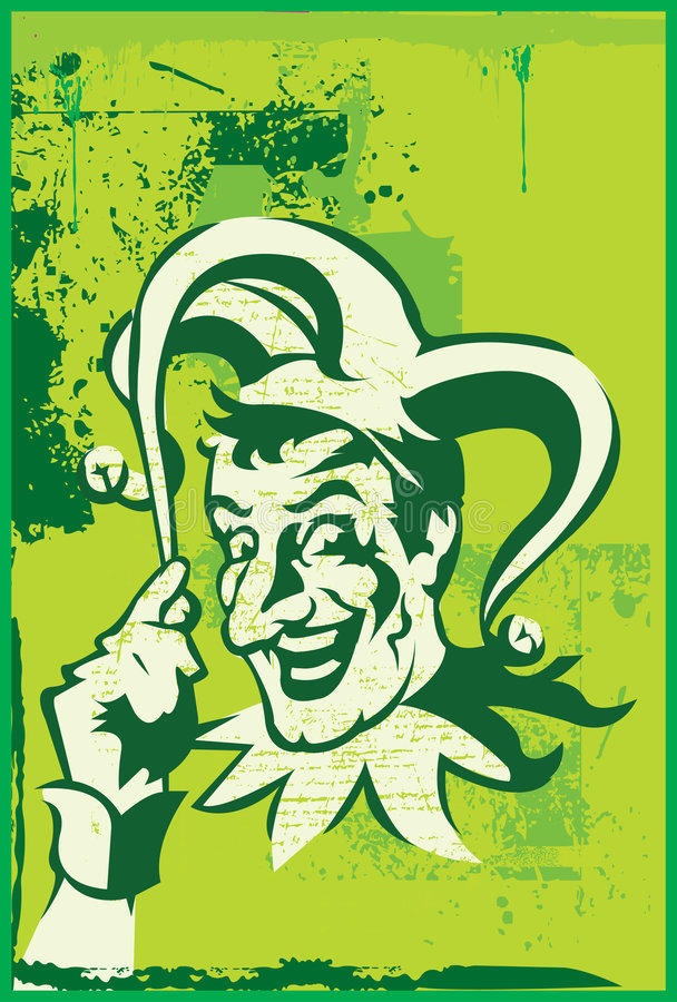 De joker stock illustratie