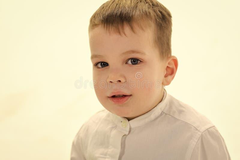 De jong geitjemanier, stijl en ziet, chef- baby eruit stock afbeelding