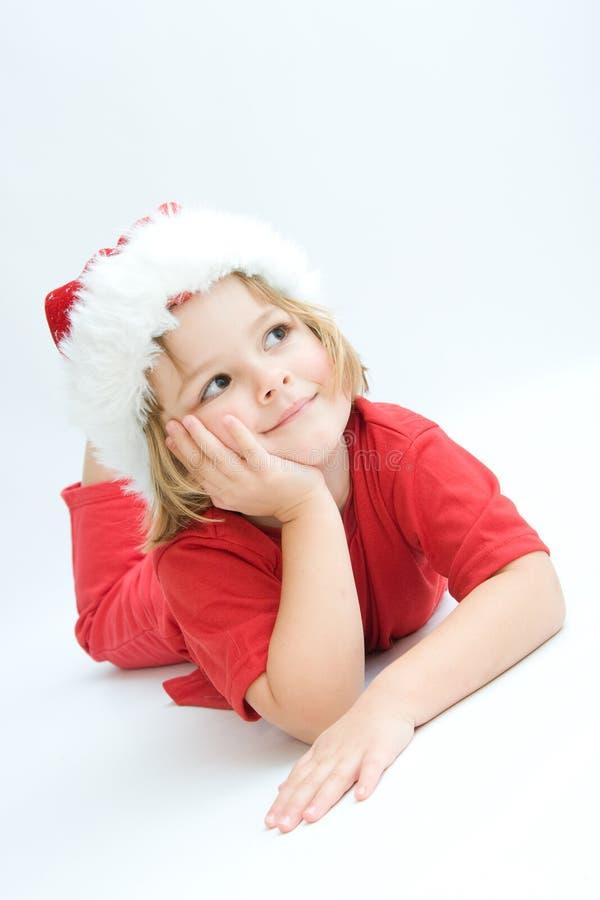 De jonge geitjes van Kerstmis stock fotografie