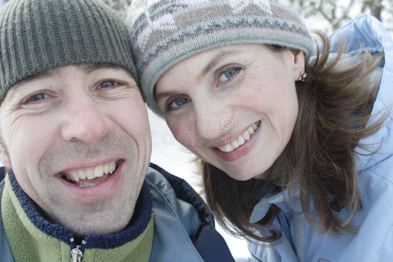 De jonge mensen glimlachen stock fotografie