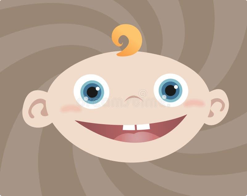 De Jongen van de baby vector illustratie