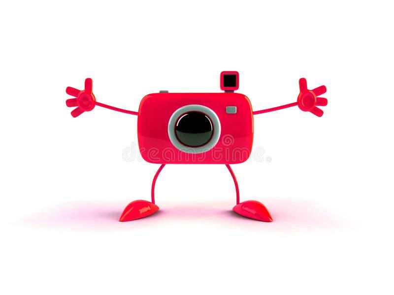 De jongen van de foto vector illustratie