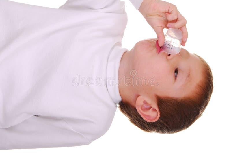 De Jongen van de geneeskunde royalty-vrije stock afbeelding
