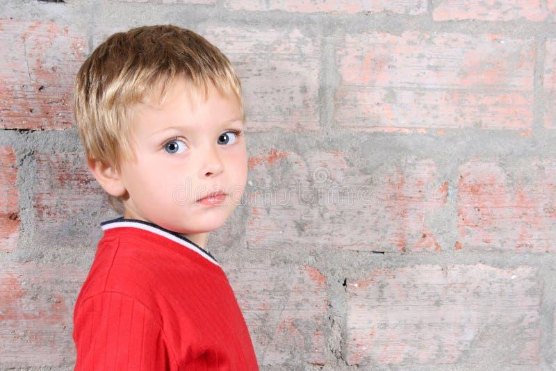 De jongen van de peuter stock afbeelding
