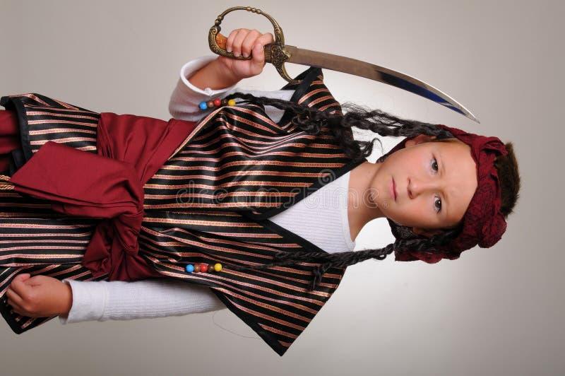 Download De Jongen van de piraat stock afbeelding. Afbeelding bestaande uit riemen - 10783525