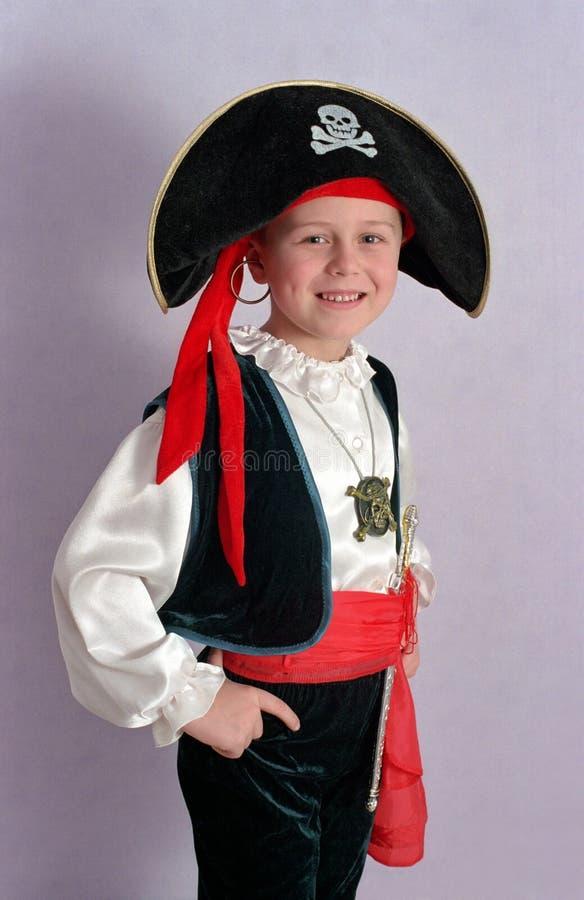 De jongen van de piraat royalty-vrije stock foto