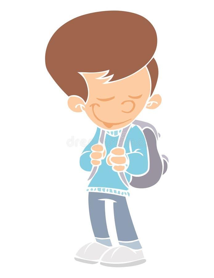 De jongen van de school