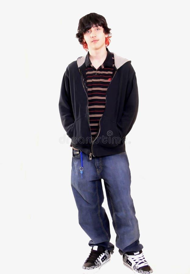 De jongen van de tiener    royalty-vrije stock afbeelding