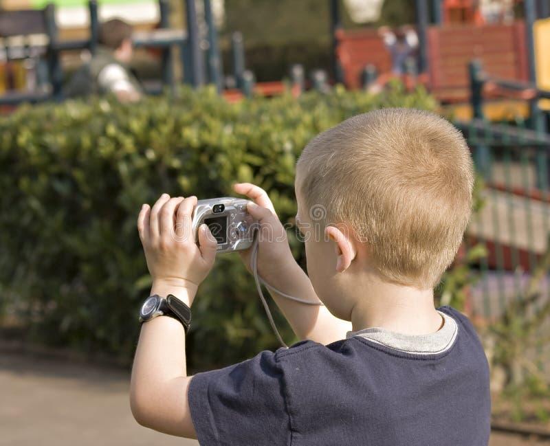 De jongen van het portret stock afbeelding