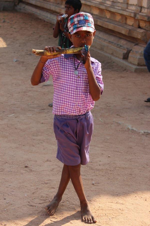De jongen van India royalty-vrije stock foto