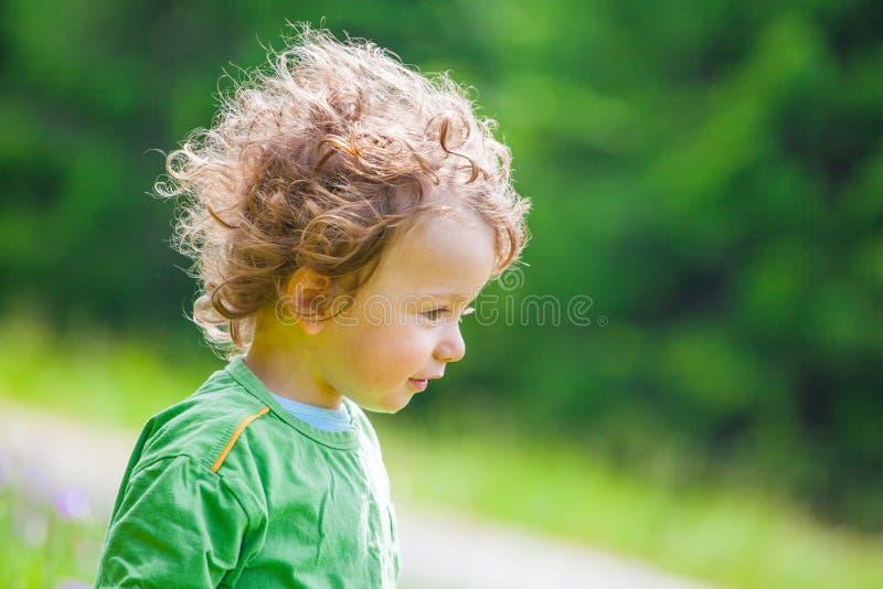 de jongensportret van de 1 éénjarigebaby royalty-vrije stock foto's