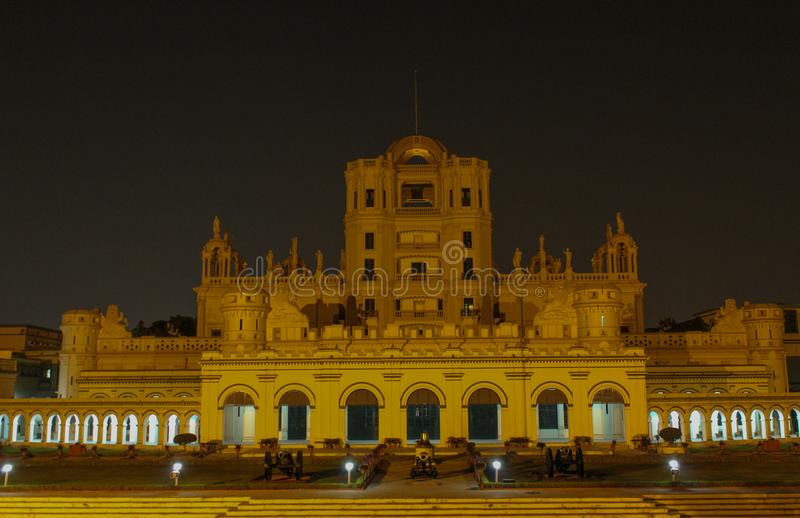 De Jongensuniversiteit Lucknow van La Martiniere royalty-vrije stock foto