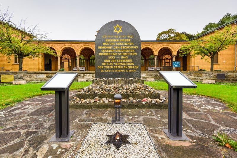 De Joodse Begraafplaats van Berlijn stock fotografie
