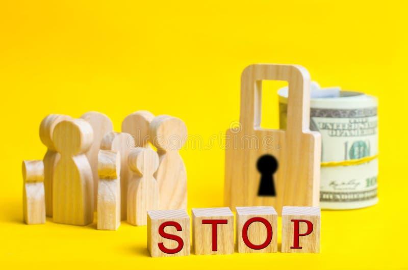 30 de julho - dia do mundo contra o tráfico em seres humanos O ser humano não é um produto Pare o pederastia Escravidão do concei fotos de stock