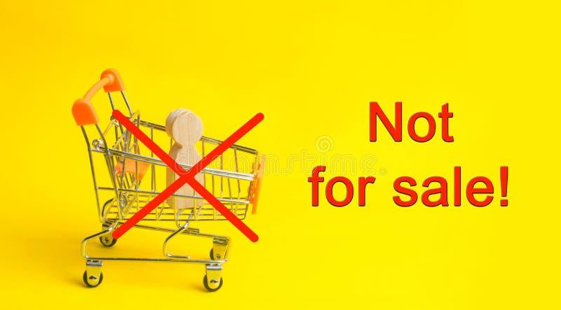 30 de julio - día del mundo contra el tráfico en seres humanos El ser humano no es un producto Pare la pederastia Esclavitud del  fotos de archivo libres de regalías