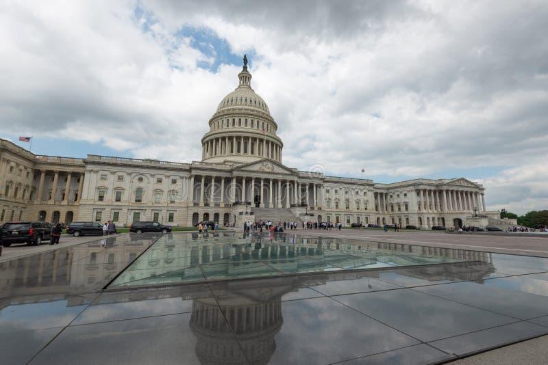 2 de junio de 2018 - Washington DC, Estados Unidos: Edificio del capitolio, Washington DC, edificio del capitolio de los estados  fotos de archivo