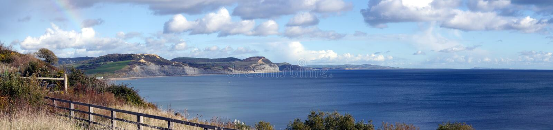 De Jurakustlijn van Dorset in Engeland royalty-vrije stock foto's