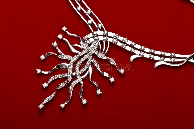 De juwelen van de diamant royalty-vrije stock afbeelding