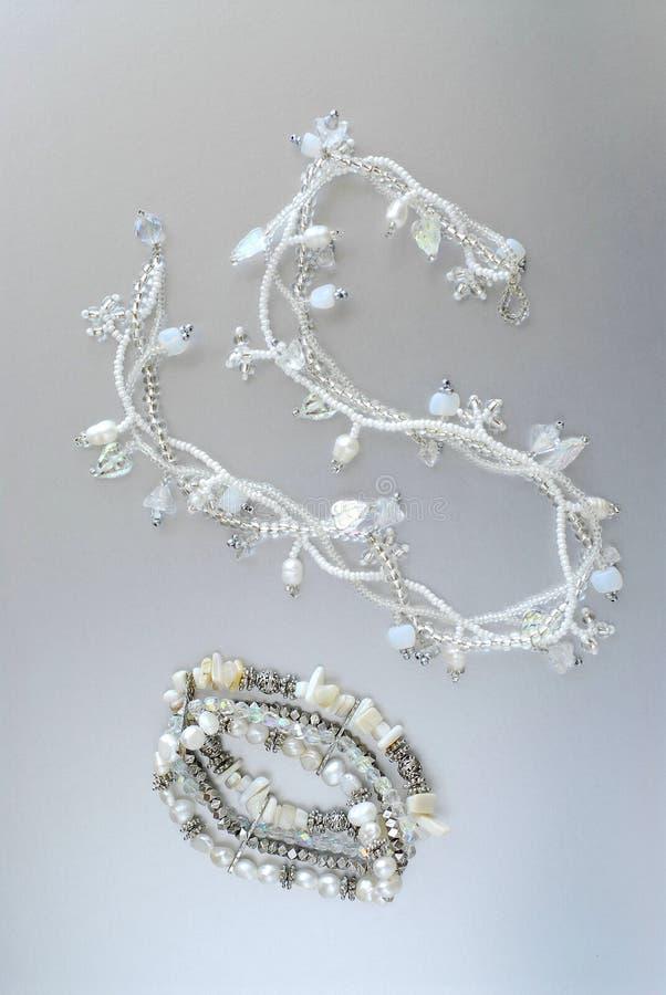 De juwelen van de parel royalty-vrije stock foto's