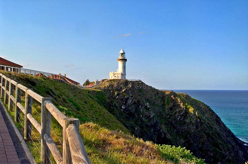 De Kaap Byron Lighthouse stock fotografie