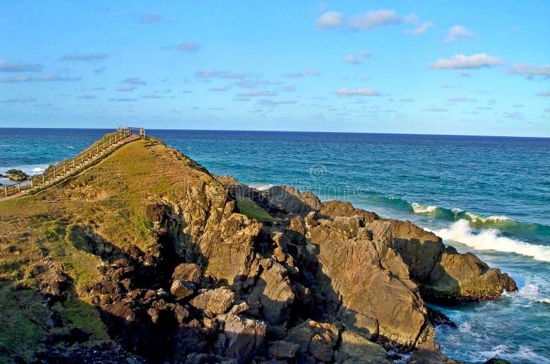 De Kaap Byron, Pasen het meeste punt van Australië stock foto