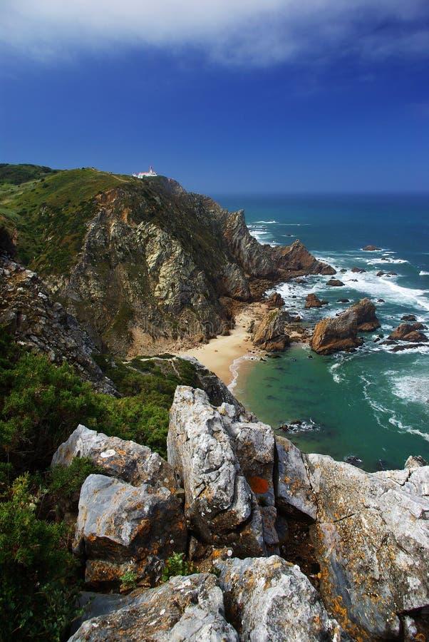 De Kaap van Roca stock foto's