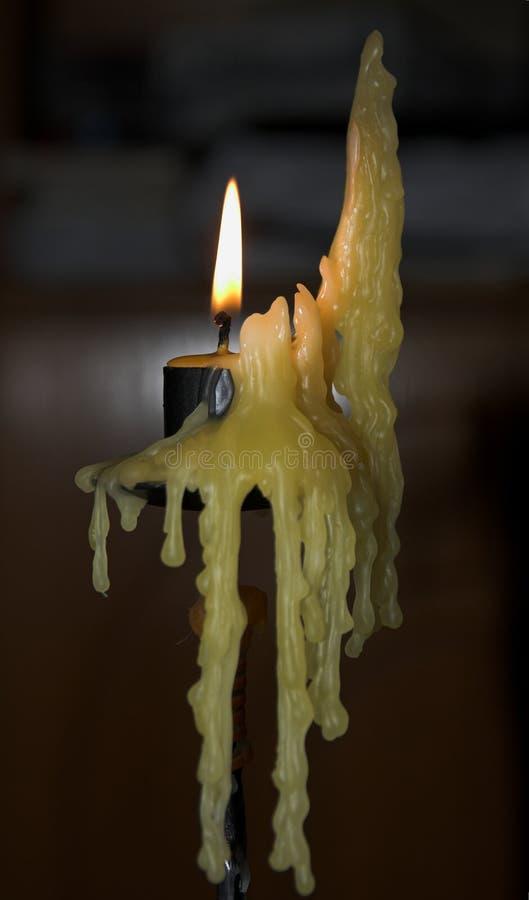 De Kaarsen van de goot stock afbeelding