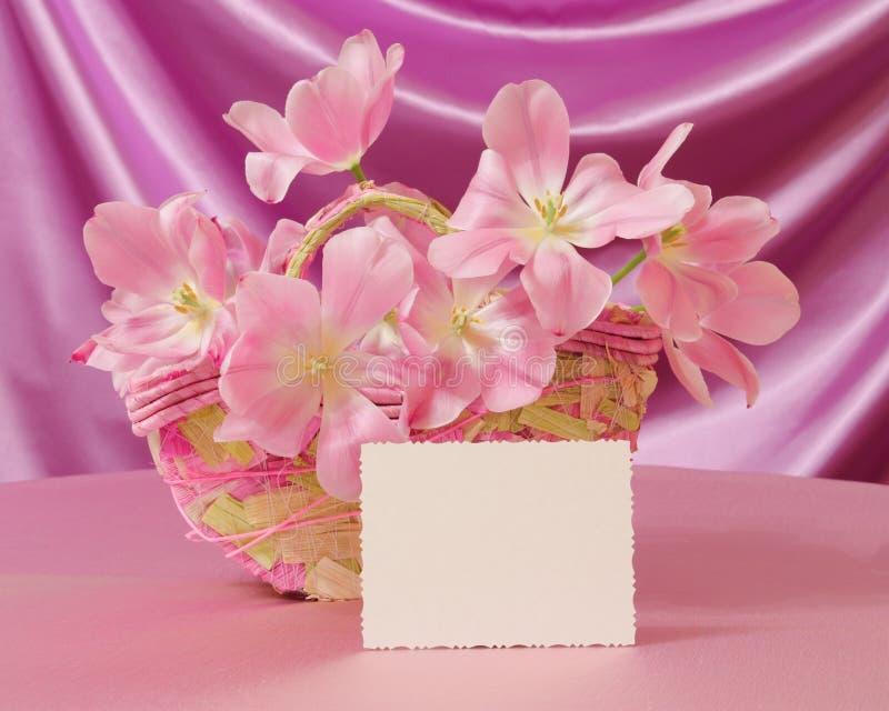 De Kaart van de Dag van moeders of het Beeld van Pasen - de Foto van de Voorraad stock fotografie
