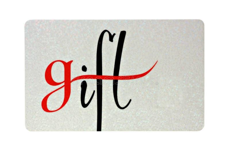 De Kaart van de gift royalty-vrije stock foto