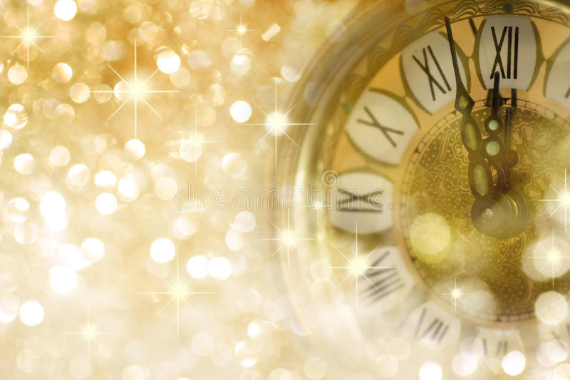 De Kaart van de Groet van het nieuwjaar royalty-vrije stock afbeeldingen