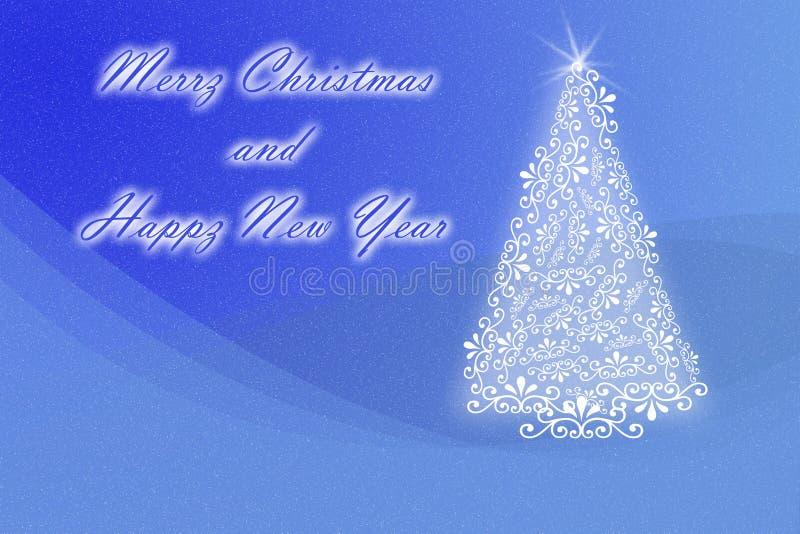 De Kaart van de Groet van Kerstmis stock fotografie