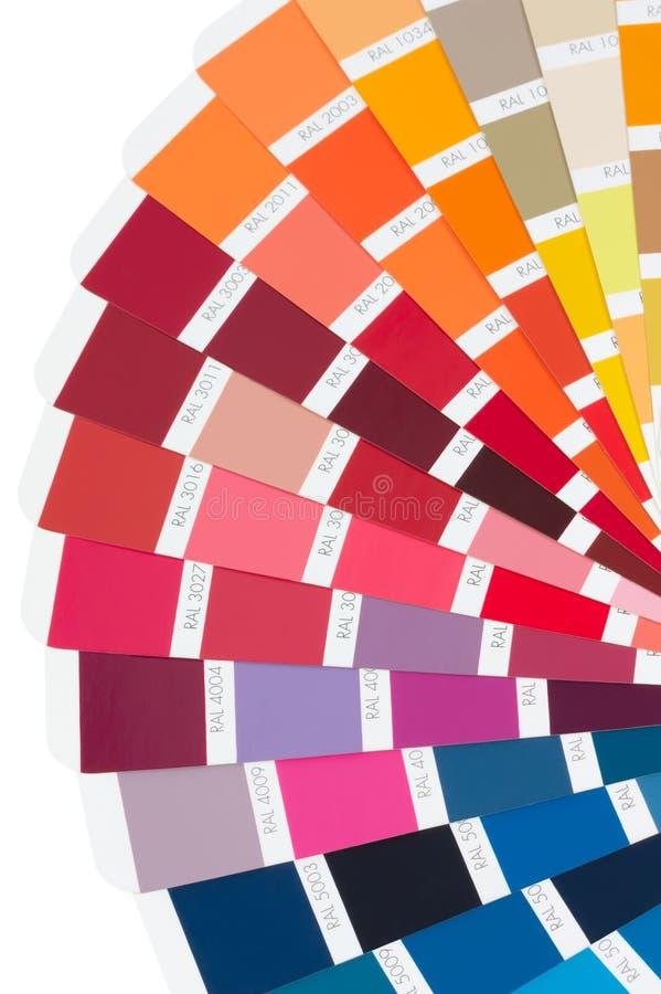 De kaart van de kleur royalty-vrije stock foto